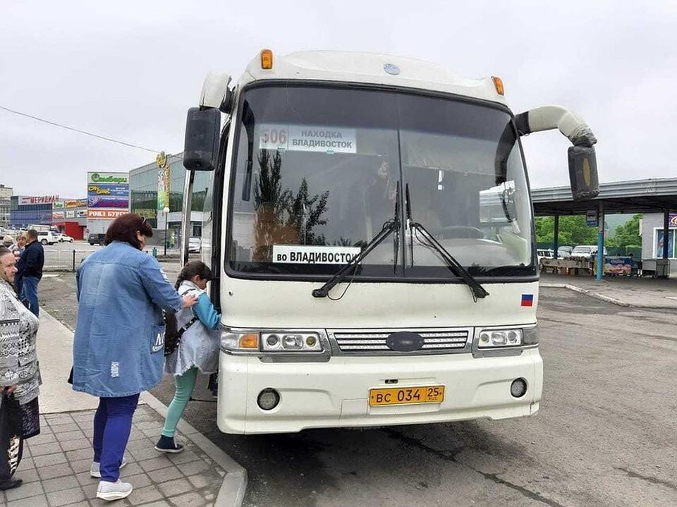 Сегодня из Владивостока не отправятся в рейс несколько автобусов. Фото: Михайлова Ольга