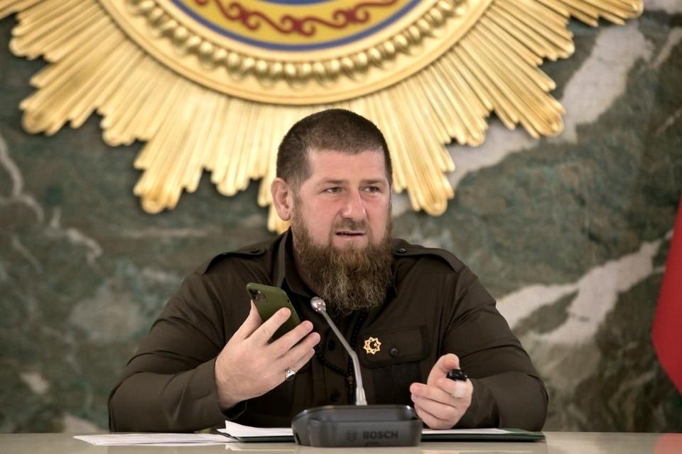 Рамзан Кадыров. Фото: пресс-служба главы Чечни
