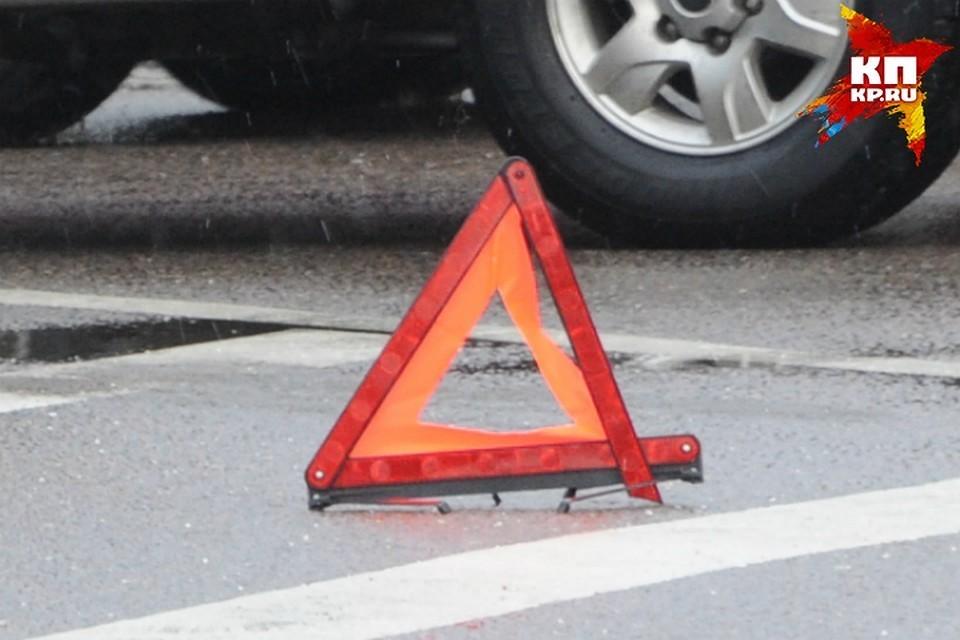 В ДТП пострадал водитель