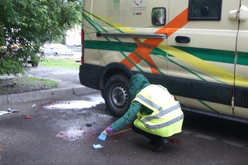 Раненые при нападении в Красноярске инкассаторы пошли на поправку. Фото: стоп-кадр видео ГУ МВД России по Красноярскому краю.