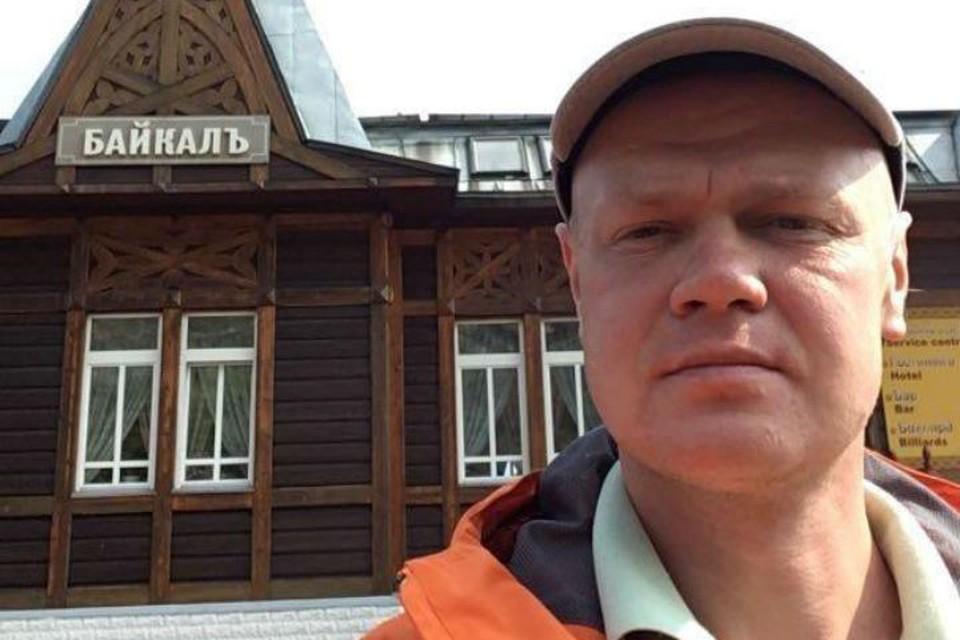 Павел Солдатов. Фото: предоставлено ГУ МЧС России по Иркутской области