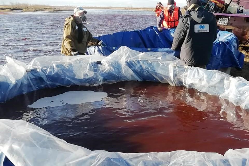Нанесенный аварией ущерб велик. Дизель попал в реки Амбарная и Далдыкан, из которых идет водоснабжение Норильска