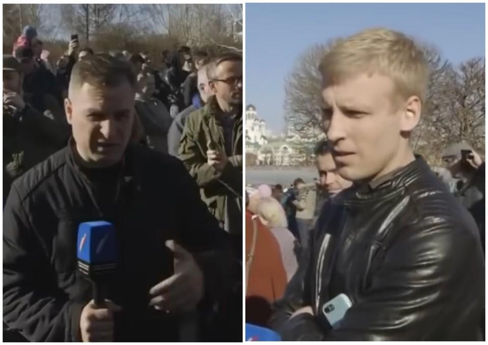 Журналист где-то спрятался и отключил телефон, поэтому связаться с ним не удалось. Фото: freepressa.ru