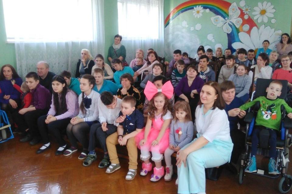 В Мозыре родители отстояли центр для детей-инвалидов. Фото: детского центра
