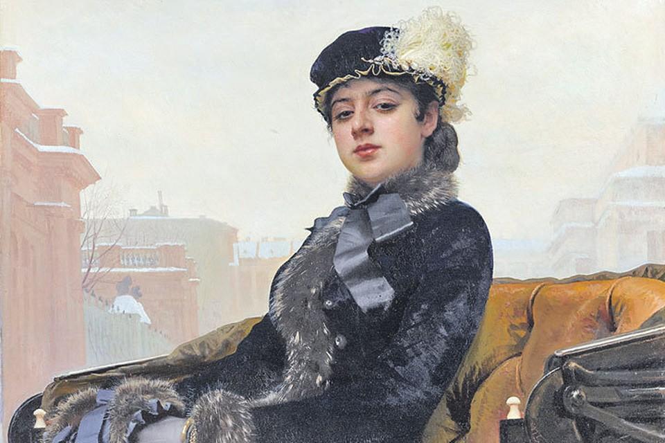 Одна из самых знаменитых картин художника - «Неизвестная». Фото: wikimedia.org
