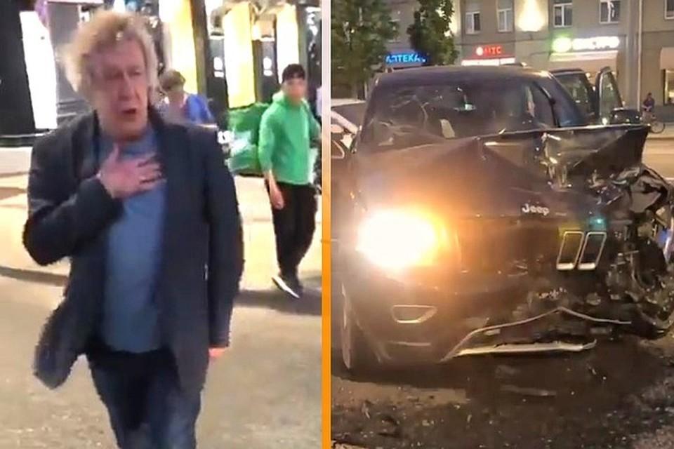 Водитель, пострадавший в аварии с Ефремовым, умер в больнице
