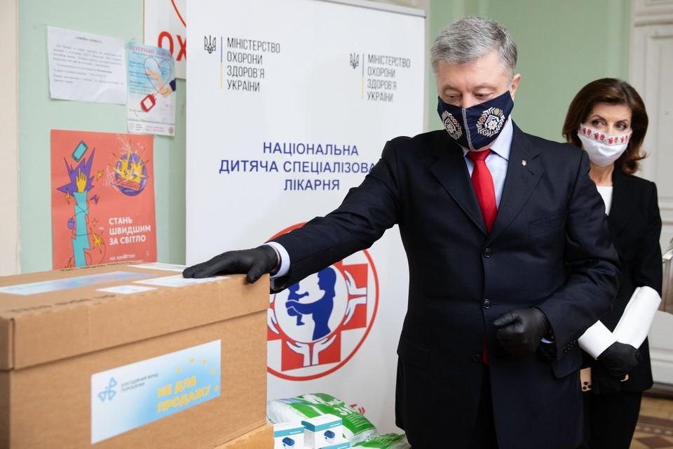 Порошенко забыл родной язык во время скандала у генпрокурора Украины