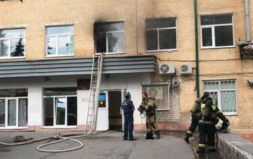 В больнице Семашко Орла случился пожар