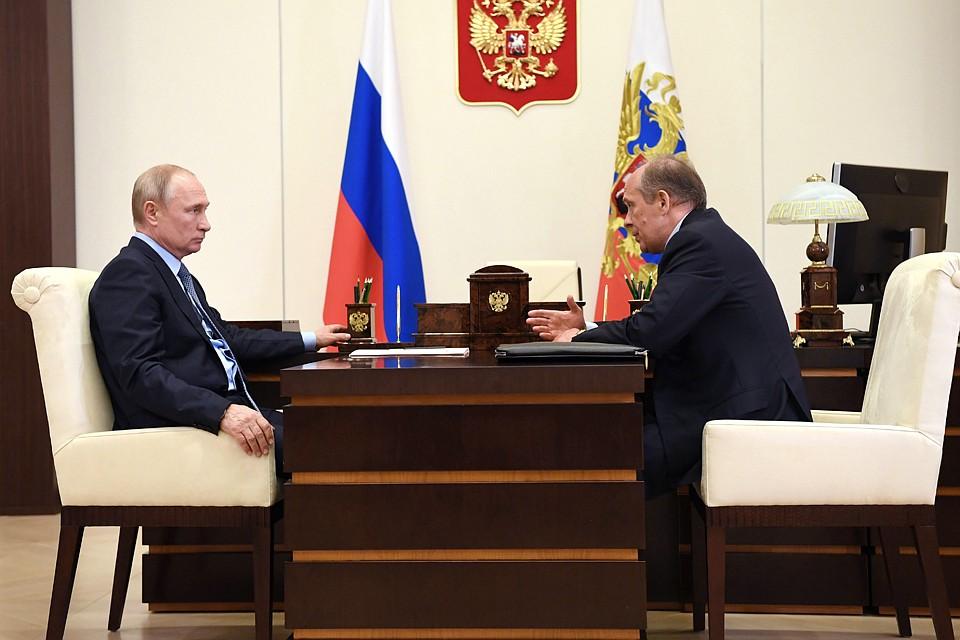 Путину доложили о ликвидации бандподполья на Северном Кавказе