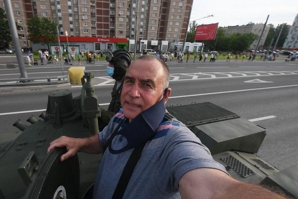 """Фотокор """"КП"""" прокатился на технике, которая будет задействована в Параде Победы"""