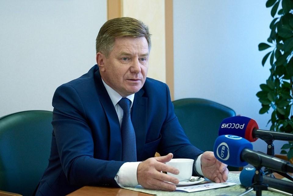 Владимир Русинов. Фото: Избирательная комиссия Свердловской области
