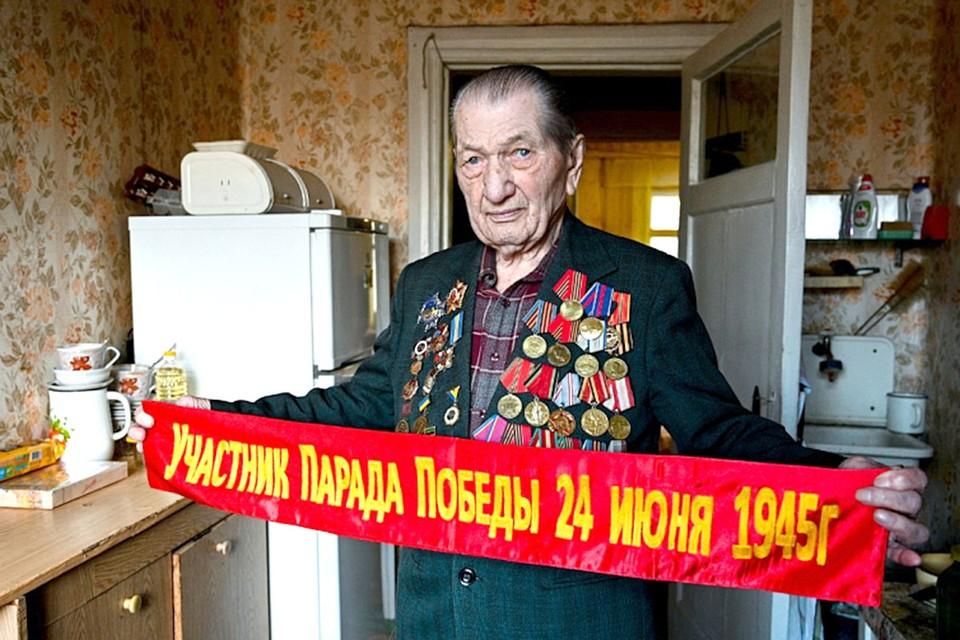 Ветеран Великой Отечественной Алексей Кужильный ушел на фронт в 16 лет.
