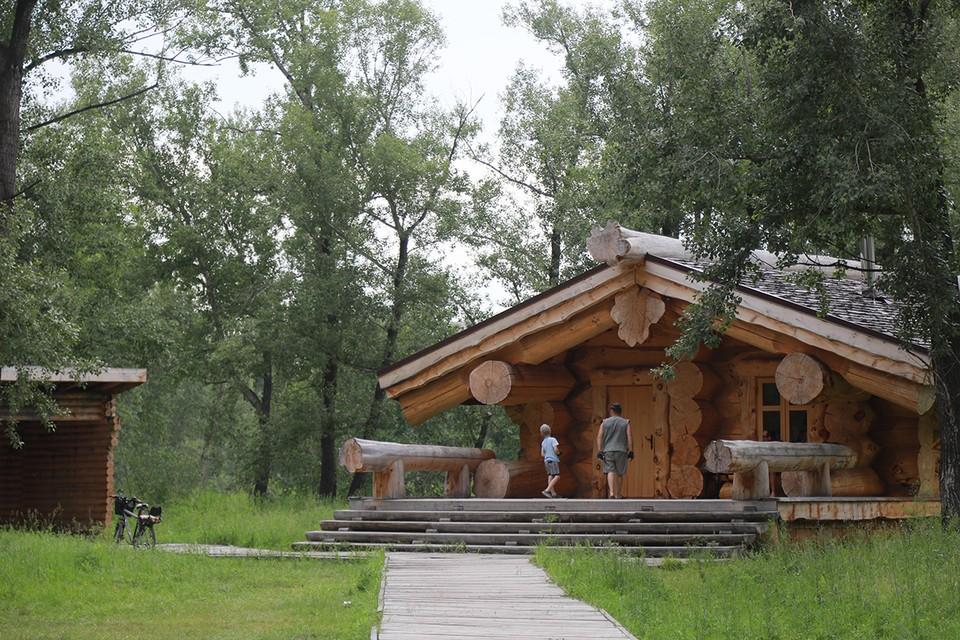 Объекты были построены ассоциацией «Русский лес» во время проведения Всемирной Универсиады - 2019