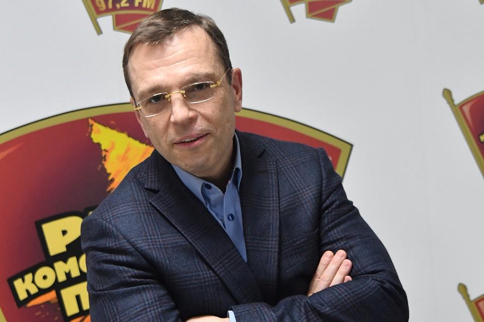 Известный российский экономист Никита Кричевский.
