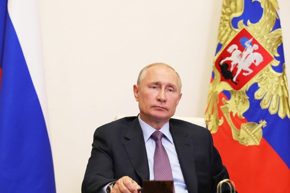 Повод (голосование по поправкам к Конституции) Путин считает достаточно важным, и само телеобращение все же состоится.