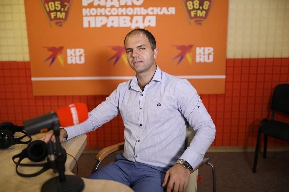 Врач травматолог-ортопед СККБ Георгий Айрапетов