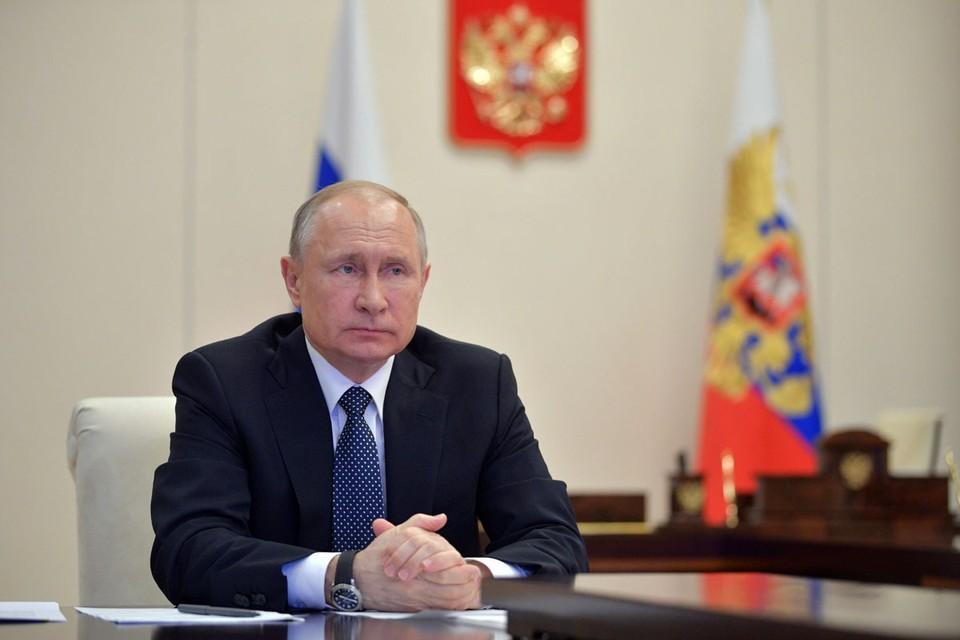 Путин поддержал идею назвать улицы городов в часть борющихся с COVID-19 медиков