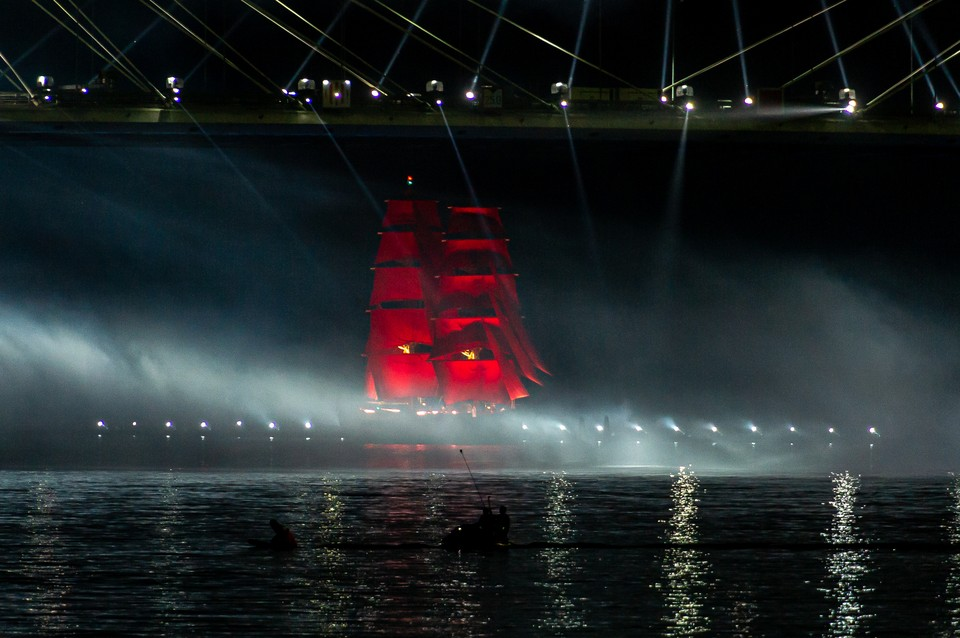 Завершился самый яркий вечер выпускников страны Алые паруса-2020