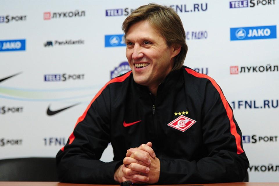 Евгений Бушманов. Фото: spartak.com