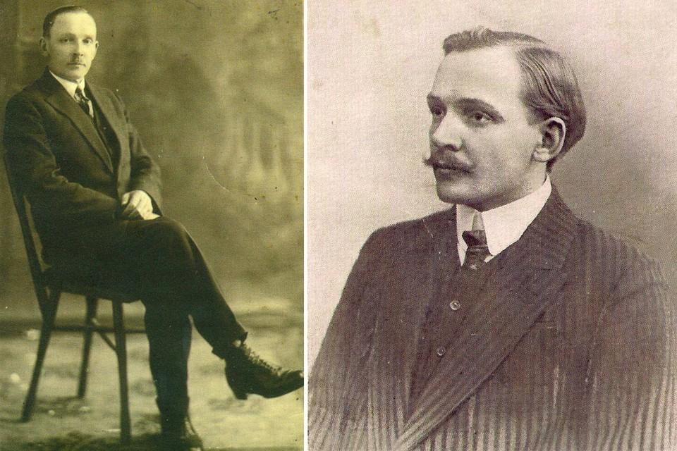В разные годы Купала следил за модой. Фото: Государственный литературный музея Янки Купалы