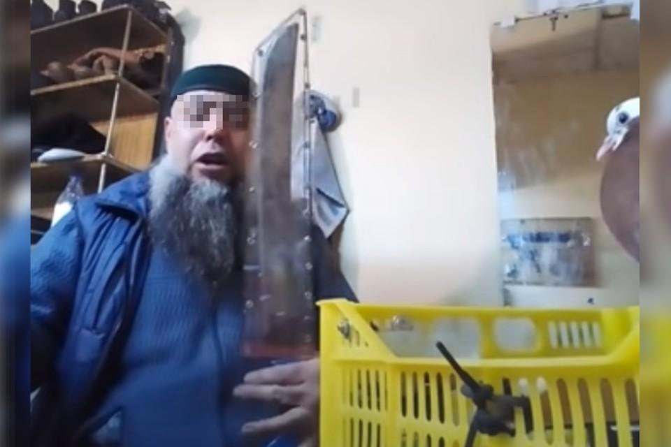 Алиев и «меч зятя Мухаммеда» / фото: УФСБ РБ
