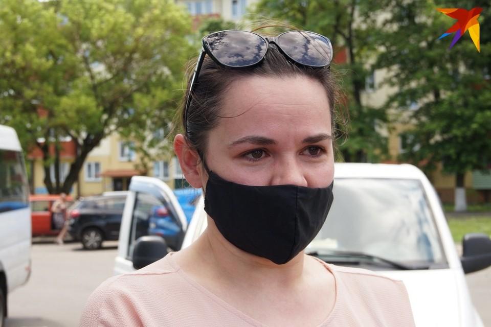 Светлана Тихановская также подала документы в ЦИК для регистрации кандидатом в президенты