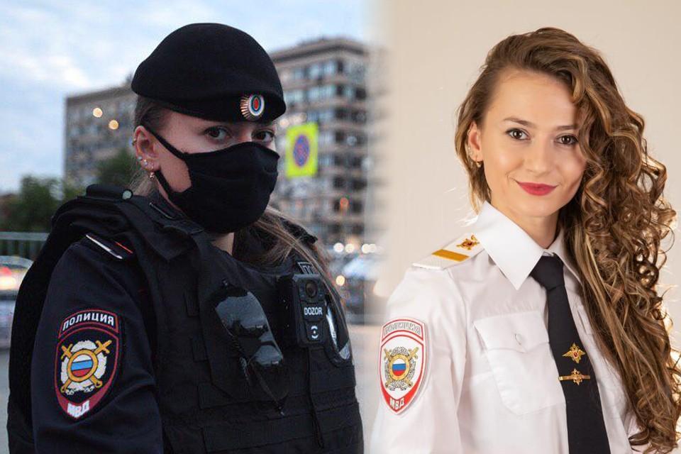 Ирина Бодрова - полицейский 2-го Оперативного полка полиции 2 роты 4 батальона старший сержант полиции