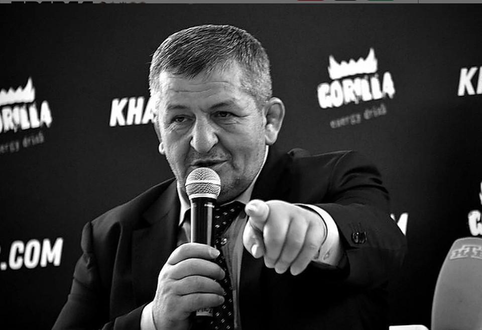 Заслуженного тренера России Абдулманапа Нурмагомедова,