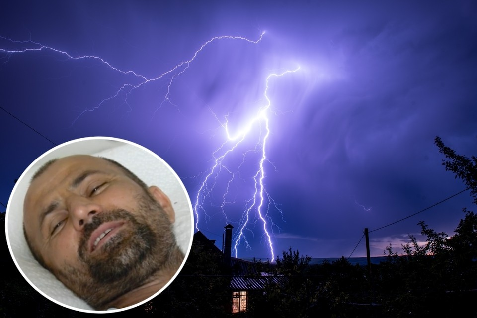 Салауди Ахматов чудом выжил после прямого удара молнии