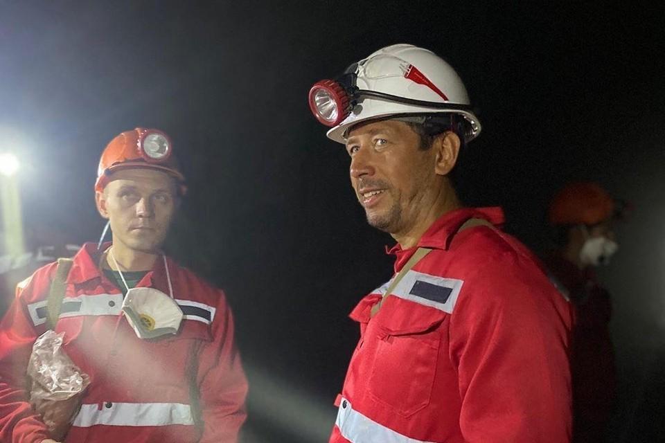 Актера поразили масштабы южноуральской шахты Фото: https://www.instagram.com/merzlikinandrey