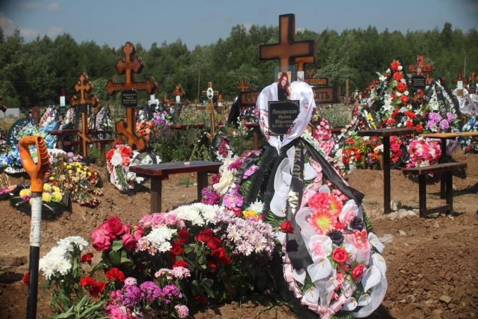 Похороны Ирины состоялись 8 июля