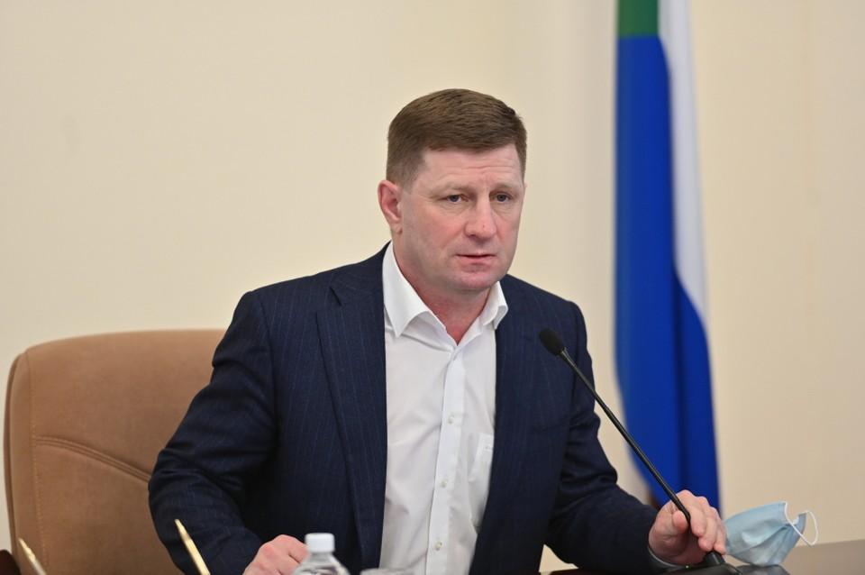 Губернатор Хабаровского края не успел назначить заместителя
