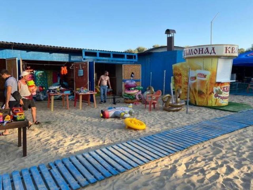 В Анапе запрещено купание в море. Фото мэрии Анапы