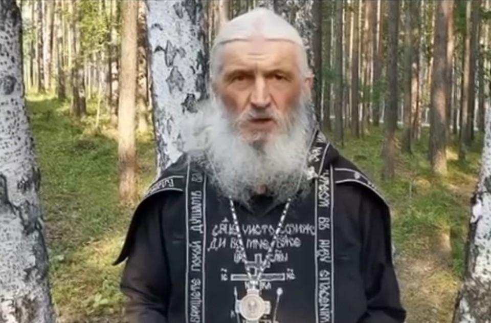 Отец Сергий во время своего последнего обращенияю Фото: YouTube - канал Всевлода Могучева.