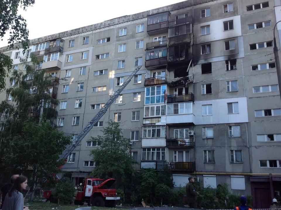 По факту взрыва газа на улице Краснодонцев в Нижнем Новгороде возбуждено уголовное дело