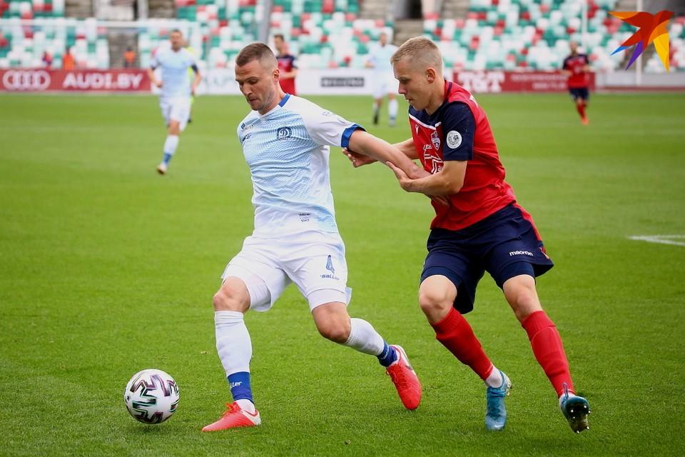 Игорь Шитов сыграл в центре полузащиты и его действия отметил главный тренер Леонид Кучук.