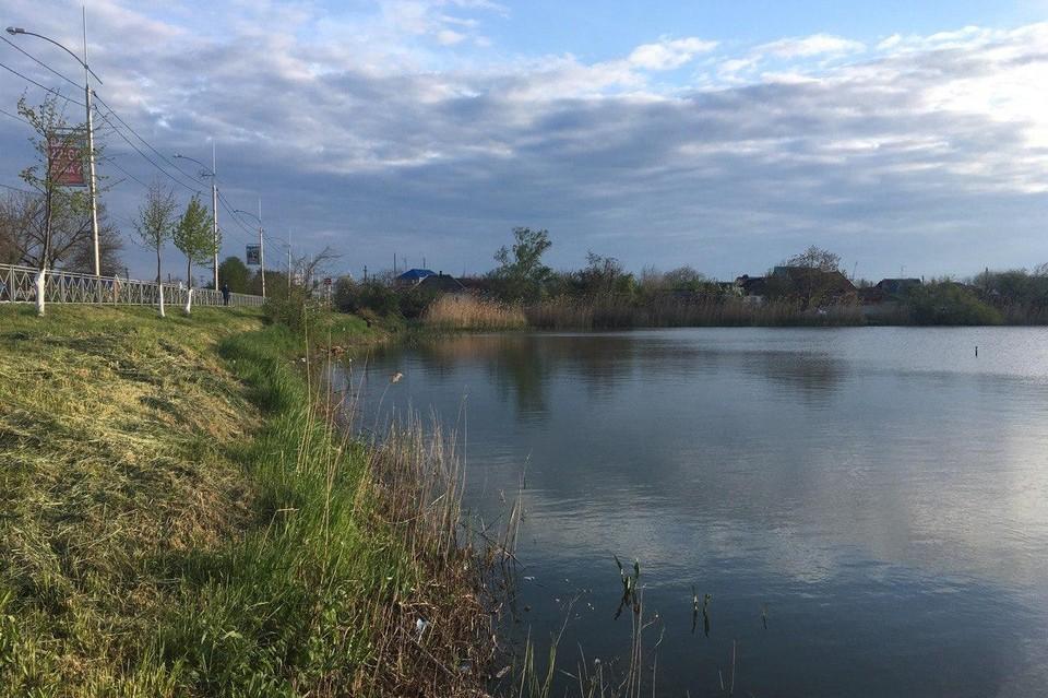 Река Кирпили в Тимашевске.