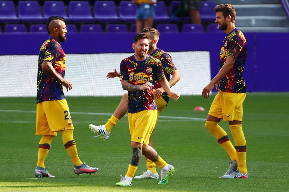 """В новом сезоне у """"Барселоны"""" будет новая форма."""
