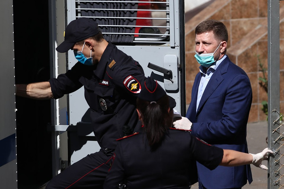 Фургал в тюрьме, но он все еще губернатор. Фото: Антон Новодережкин/ТАСС
