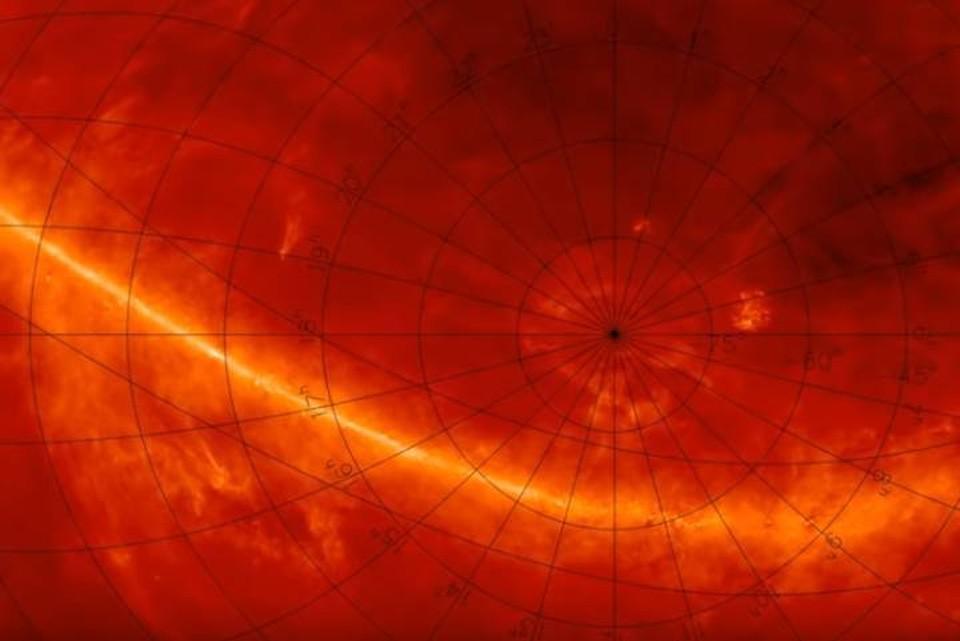 Стена Южного полюса словно бы защищает нашу галактику от чего-то, находящегося в глубинах Вселенной.