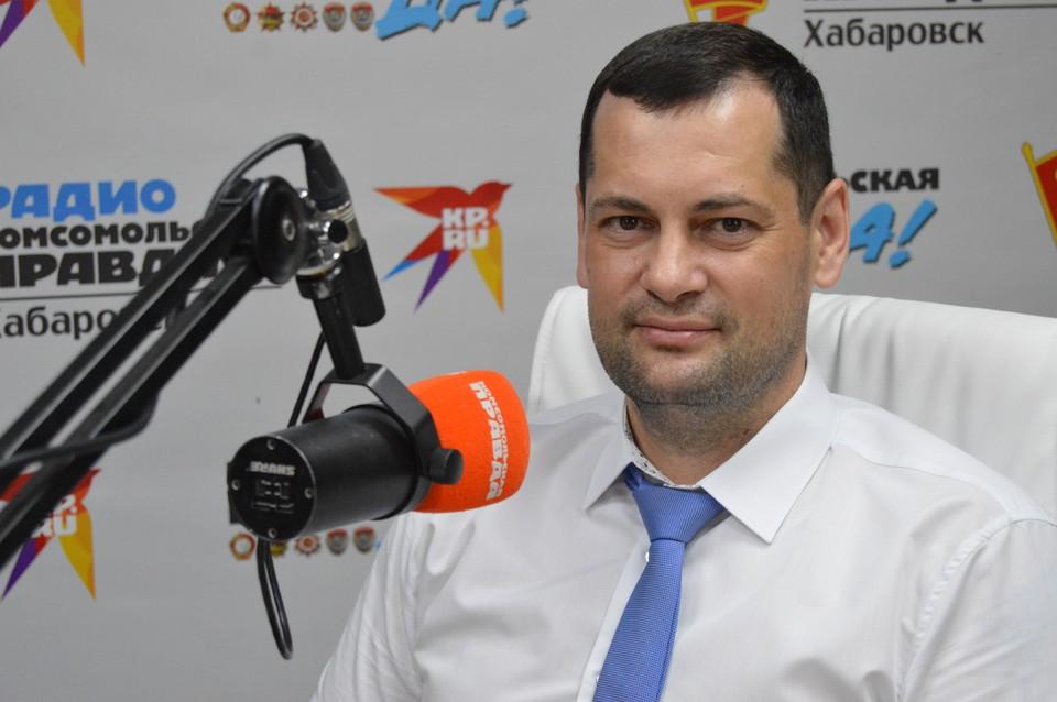 Сергей Гришин, Директор компании «Центр инновационных технологий города Хабаровска»