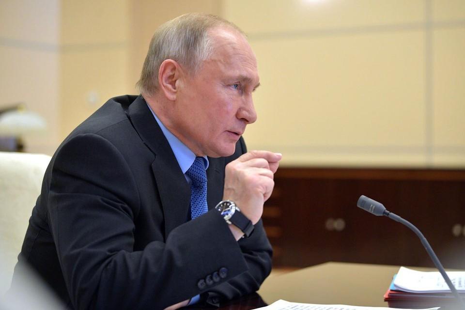По оценкам, в апреле, в период объявленных нерабочих дней, ВВП России сократился на 12%, сообщил Владимир Путин