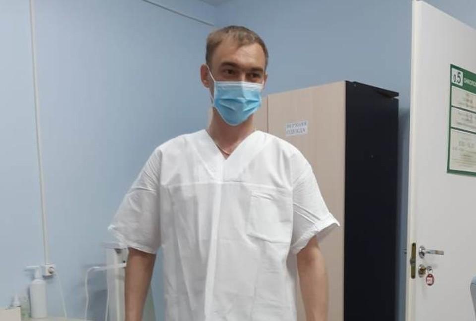 Владимира Осоловского нашли мертвым на балконе больницы. Он просто не выдержал больше. Фото из личного архива врача.