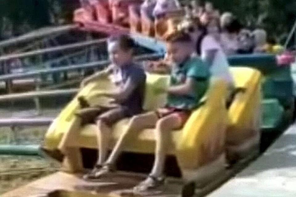 Дети во время инцидента не пострадали