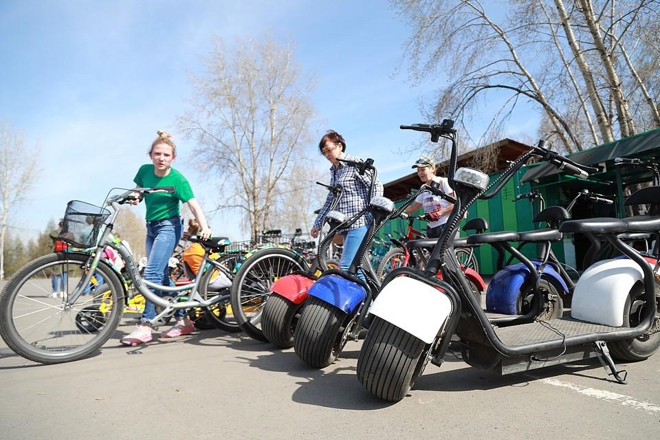 Красноярцы просят запретить электросамокаты на Татышеве.