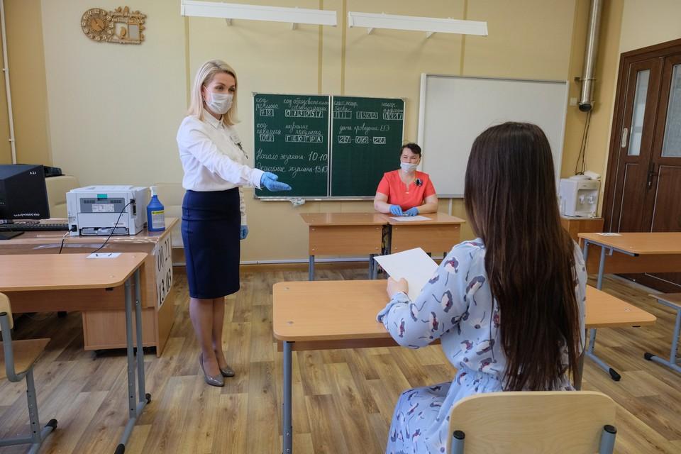 Больше всего «сотен» по русскому у учащихся школ Приморского, Выборгского, Калининского, Невского и Московского районов.