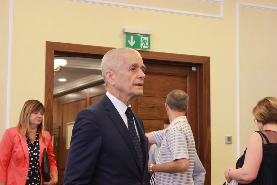 Геннадий Онищенко всячески поддерживает Донбасс
