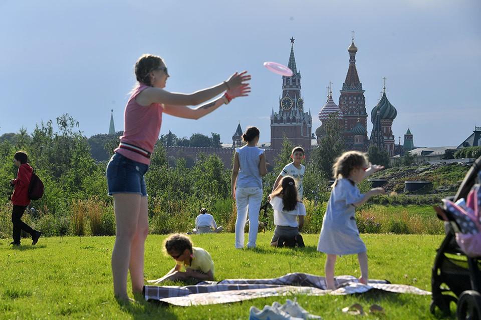 В Москву возвращается летняя погода.