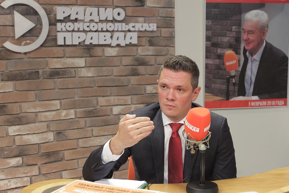 """Денис Микерин на Радио """"Комсомольская правда"""""""