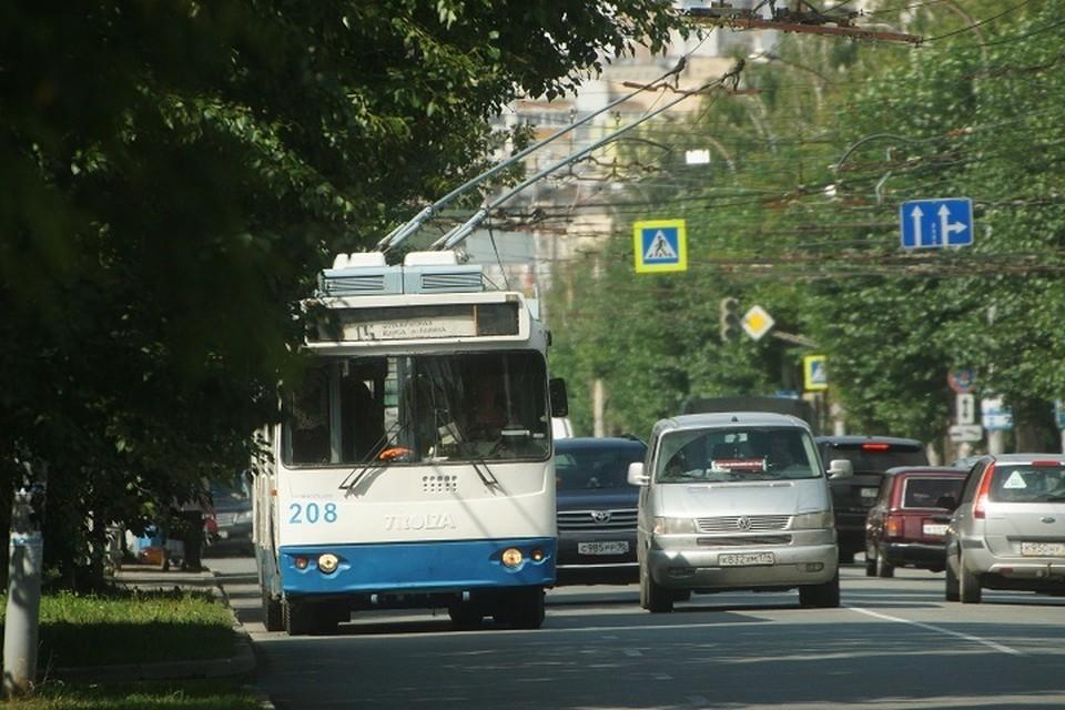 В Екатеринбурге троллейбус №17 перестанет ходить до центра